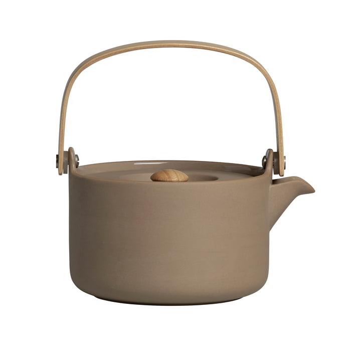 Oiva teapot by Marimekko in terra