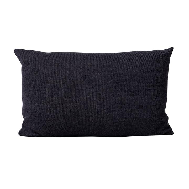 Aymara Cushion, 62 x 42 cm, plain dark blue from Form & Refine