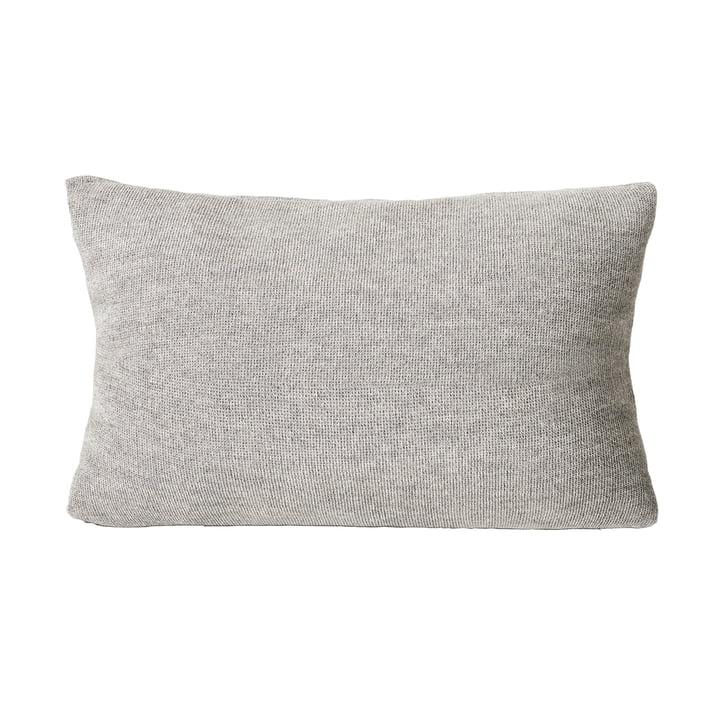 Aymara Cushion, 62 x 42 cm, patterned grey from Form & Refine