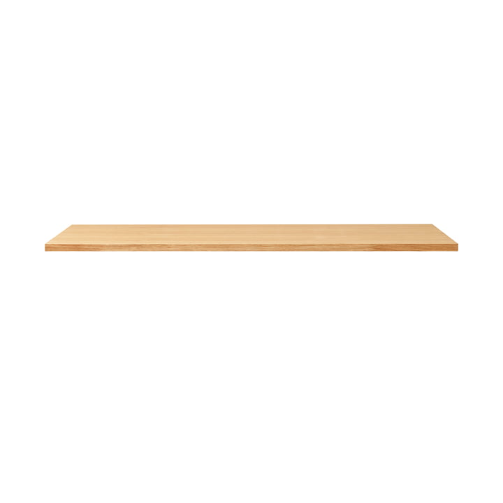 Linear table top, 125 x 68 cm, oak from Form & Refine