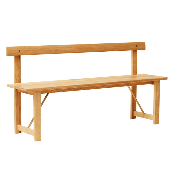 Position bench 155, oak from Form & Refine