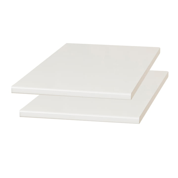 Damsbo extension plates, set of 2, 45 x 90 cm, light gray from Form & Refine