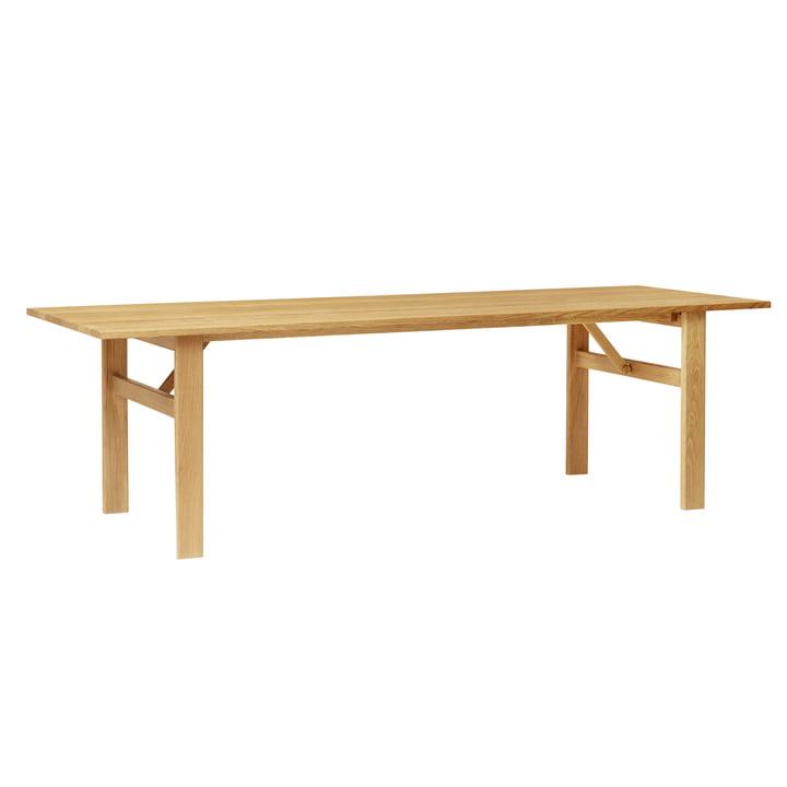 Damsbo dining table, 245 x 90 cm, oak by Form & Refine