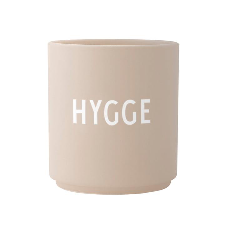 The AJ Favourite porcelain mug, Hygge / beige by Design Letters