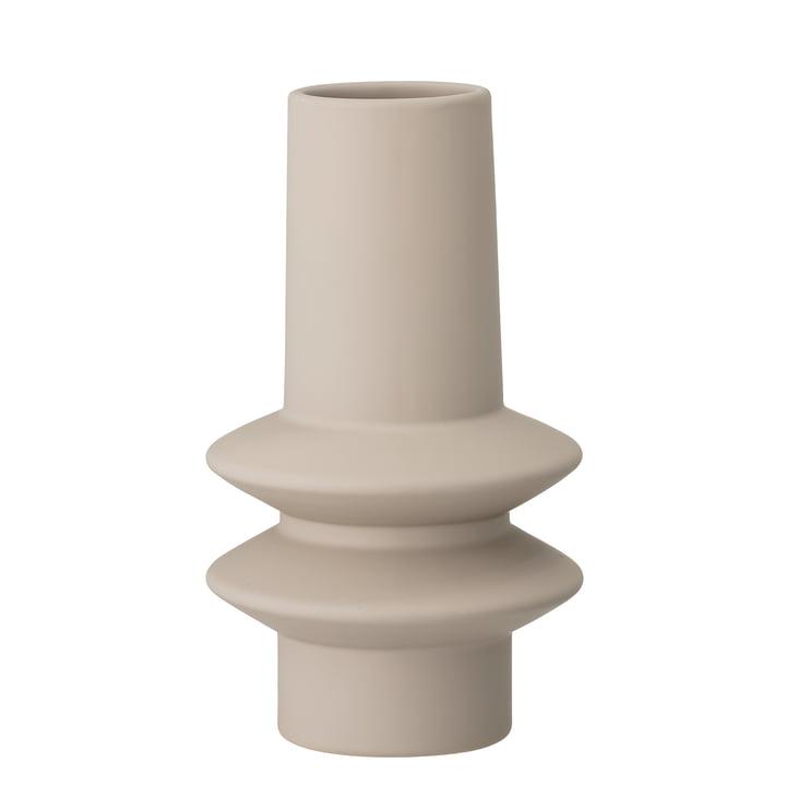 Ösold Vase Ø 12,5 x H 22 cm from Bloomingville in nature
