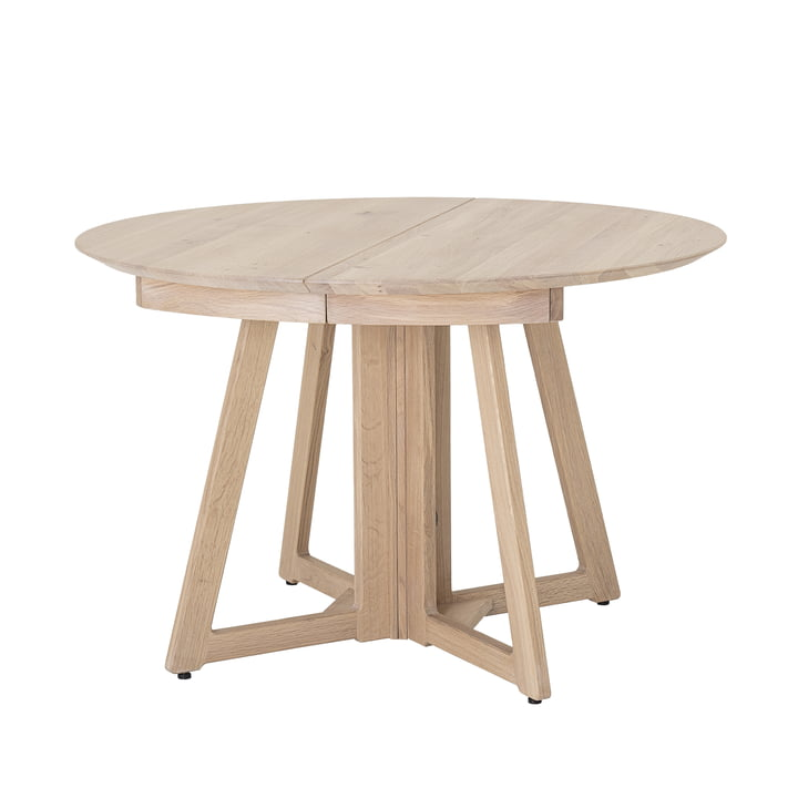 Owen Dining Table, Ø 118 x H 75 cm, natural oak by Bloomingville .