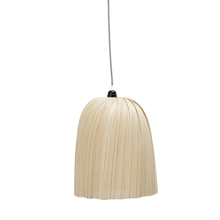 Bamboo pendant lamp, Ø 32 x H 40 cm, nature by Bloomingville