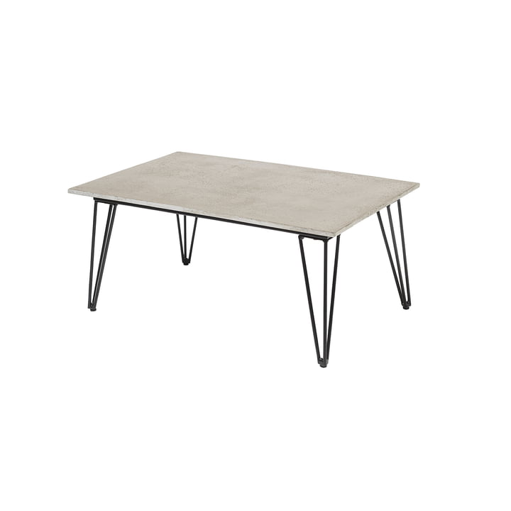 Mundo coffee table, concrete / gray from Bloomingville
