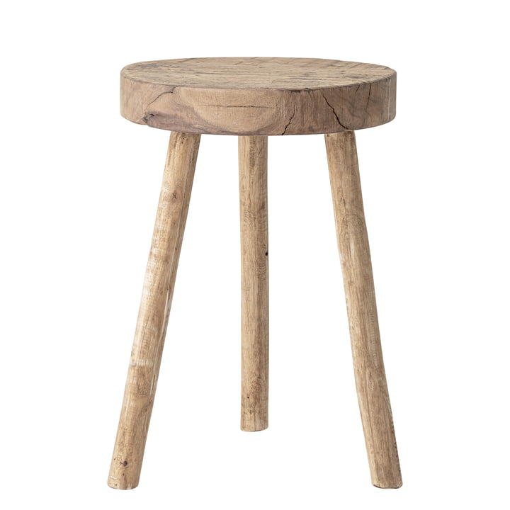 Banu Stool, Nature, Recycled wood from Bloomingville
