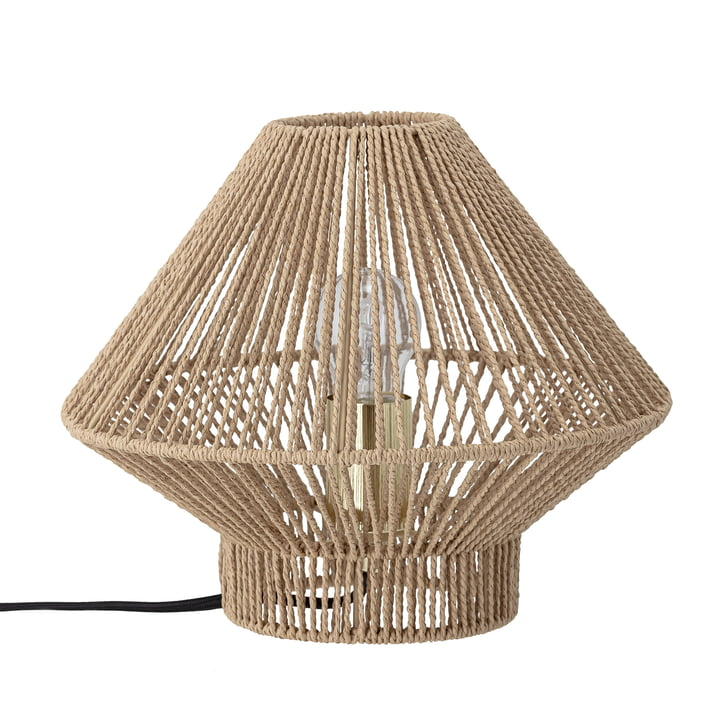 Annevictoria table lamp paper cord, Ø 30 x H 24.5 cm, nature by Bloomingville