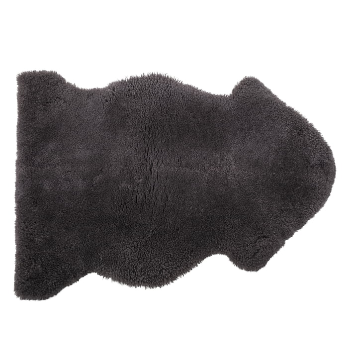 Caisy sheepskin Sheepskin, dark gray by Bloomingville