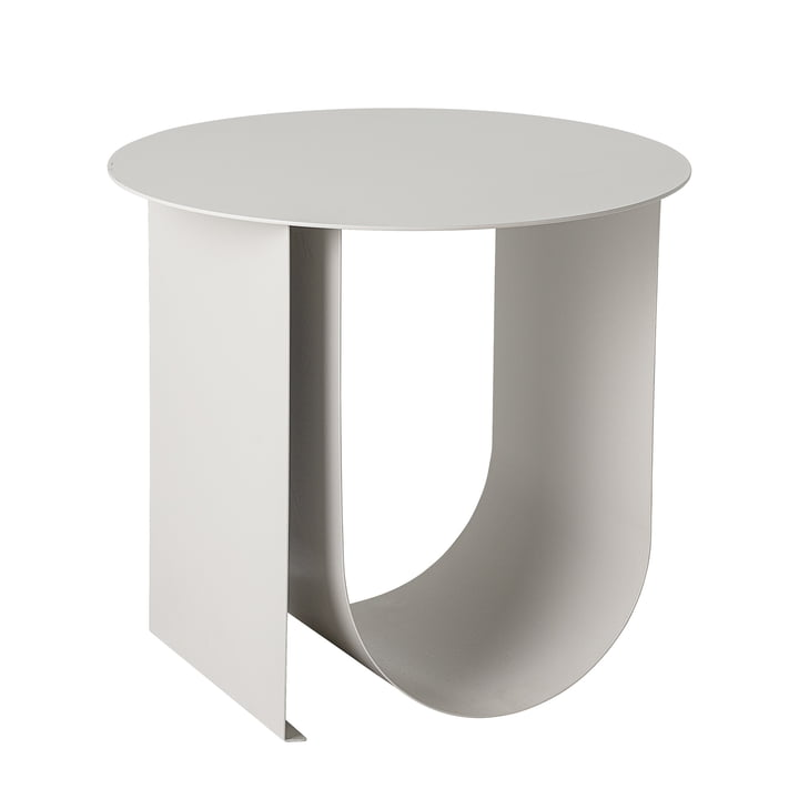 Cher side table, Ø 43 x H 38 cm, light gray by Bloomingville .