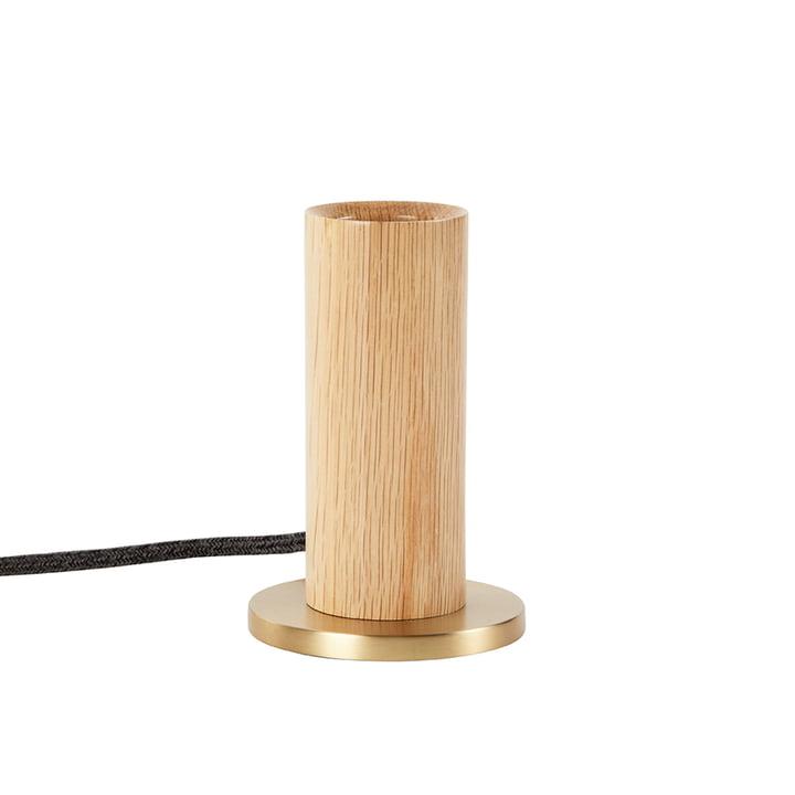 Oak Knuckle Table lamp, oak / brass (EU) from Tala .