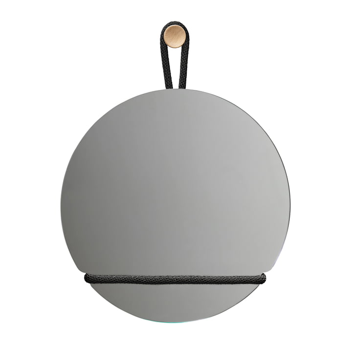 Lasso wall mirror round, Ø 50 cm by Design House Stockholm