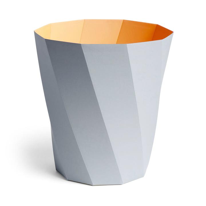 Paper Paper paper basket, Ø 28 x H 30.5 cm, light gray by Hay .