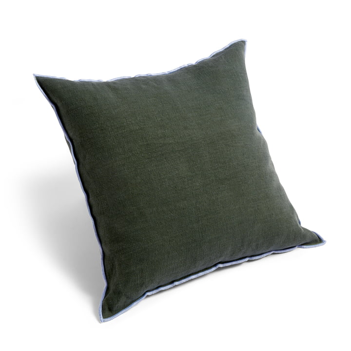 Outline cushion, 50 x 50 cm, moss green by Hay .
