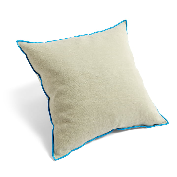 Outline pillow, 50 x 50 cm, gray blue by Hay .