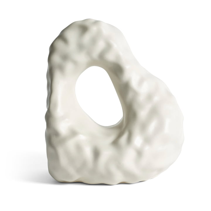W & S Boulder Bookend, ivory by Hay .