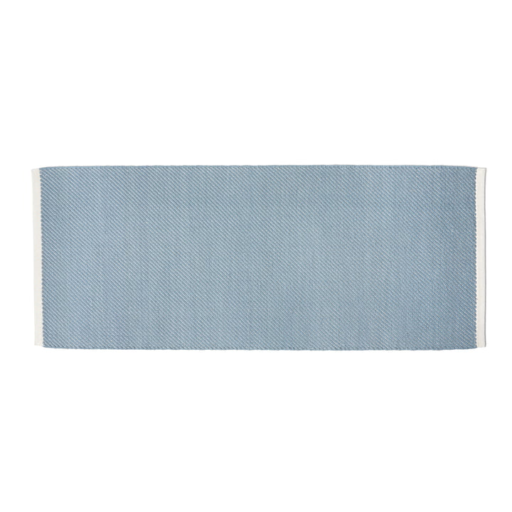 Bias carpet, 80 x 200 cm, light blue by Hay .