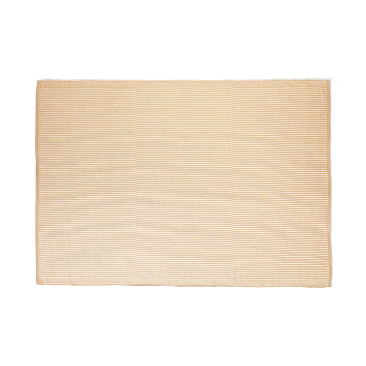 Tapis carpet, 170 x 240 cm, off-white / lavender by Hay .