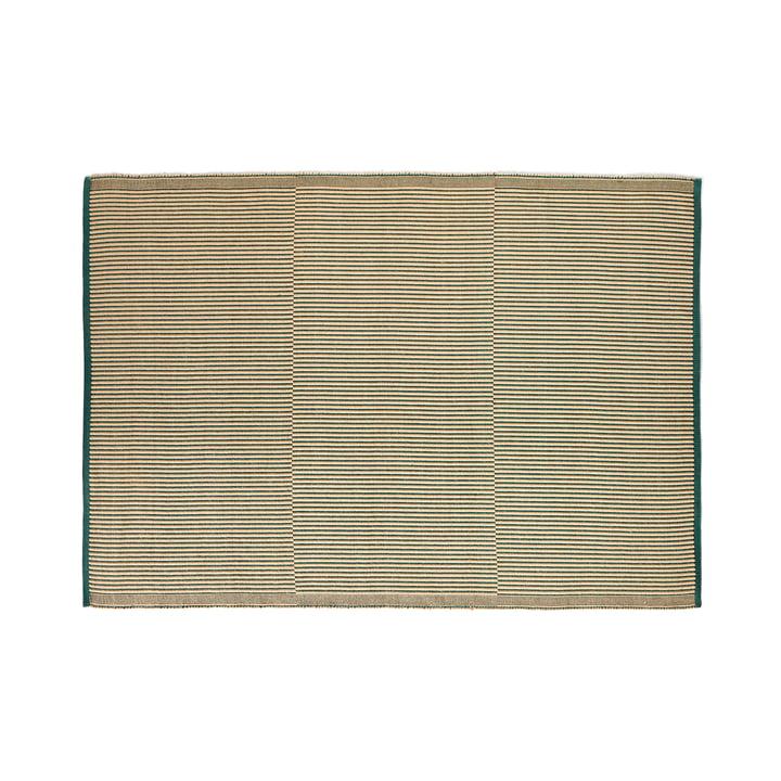 Tapis carpet, 170 x 240 cm, black / green by Hay .