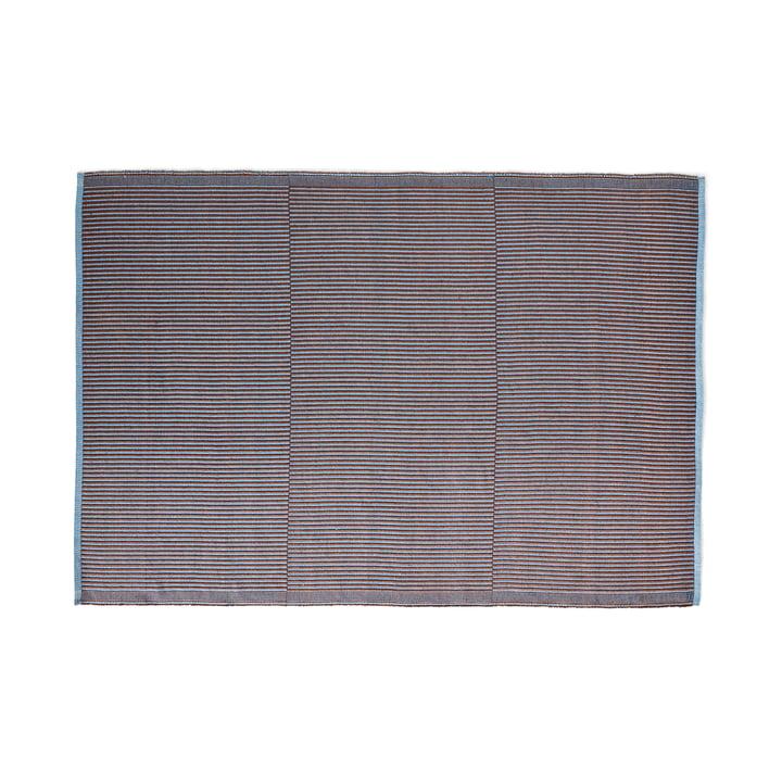 Tapis carpet, 170 x 240 cm, chestnut / blue by Hay .