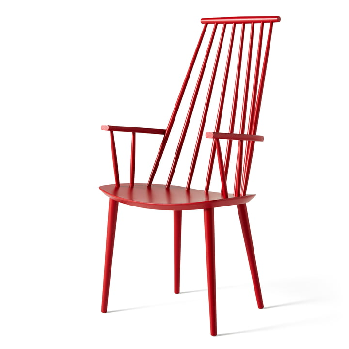J110 Chair from Hay in raspberry red