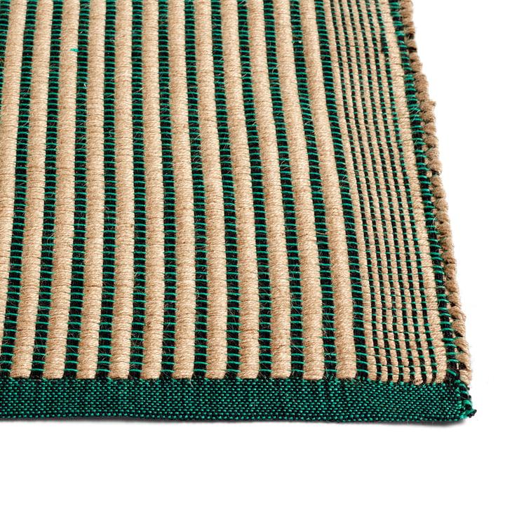 Tapis carpet, black / green by Hay .