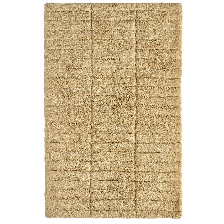 Soft Tiles bathroom mat, 80 x 50 cm, warm sand from Zone Denmark