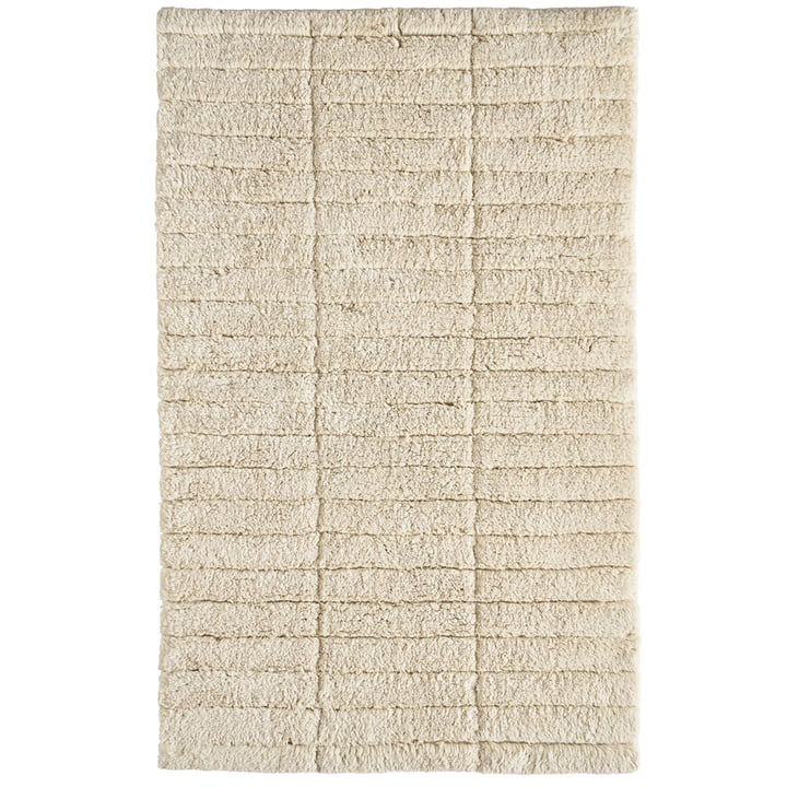 Soft Tiles bathroom mat, 80 x 50 cm, wheat from Zone Denmark