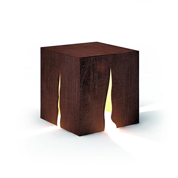Granito outdoor floor lamp H 30 cm, rust by Artemide