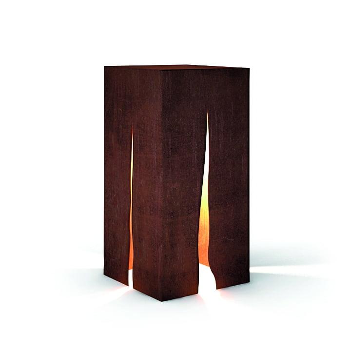 Granito outdoor floor lamp H 60 cm, rust by Artemide