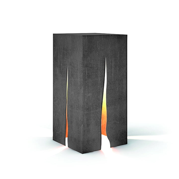 Granito outdoor floor lamp H 60 cm, gray by Artemide