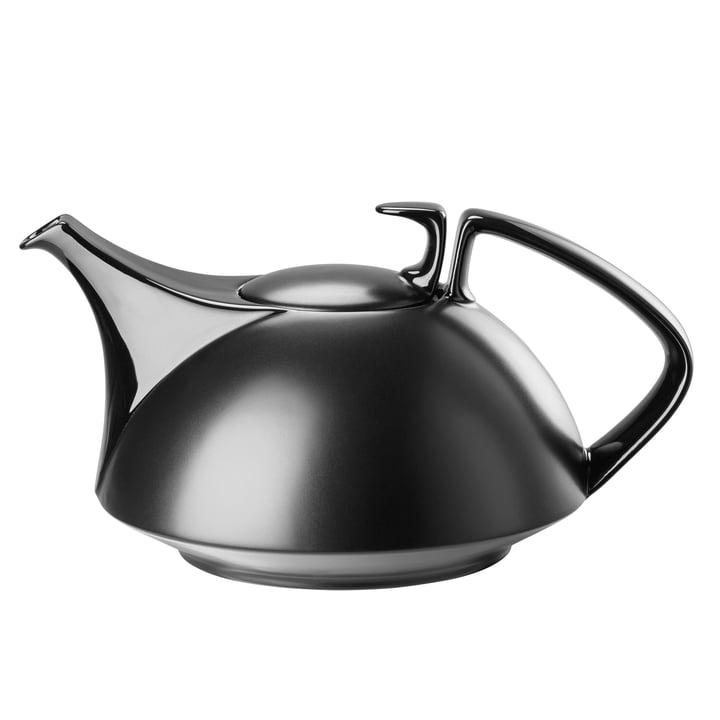 TAC teapot, large, black by Rosenthal