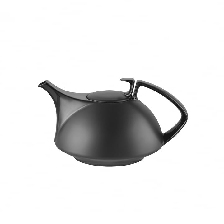 TAC teapot small, black by Rosenthal