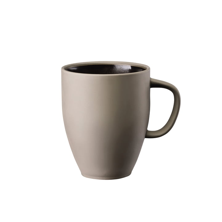 Junto mug with handle 38 cl, bronze by Rosenthal