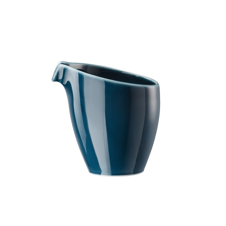 Junto milk jug 2 cl, ocean blue by Rosenthal