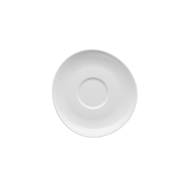 Junto combination / tea / coffee saucer Ø 15 cm, white by Rosenthal