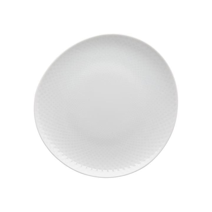 Junto plate Ø 22 cm flat, white by Rosenthal