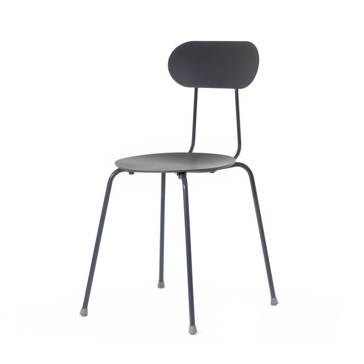 Mariolina chair, mono black by Magis