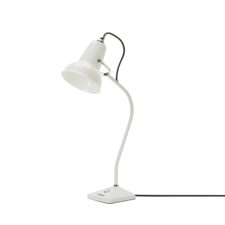 Original 1227 Mini Ceramic table lamp, pure white by Anglepoise