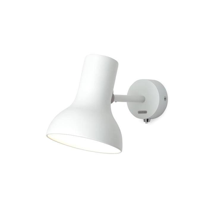 Type 75 Mini wall lamp, alpine white by Anglepoise