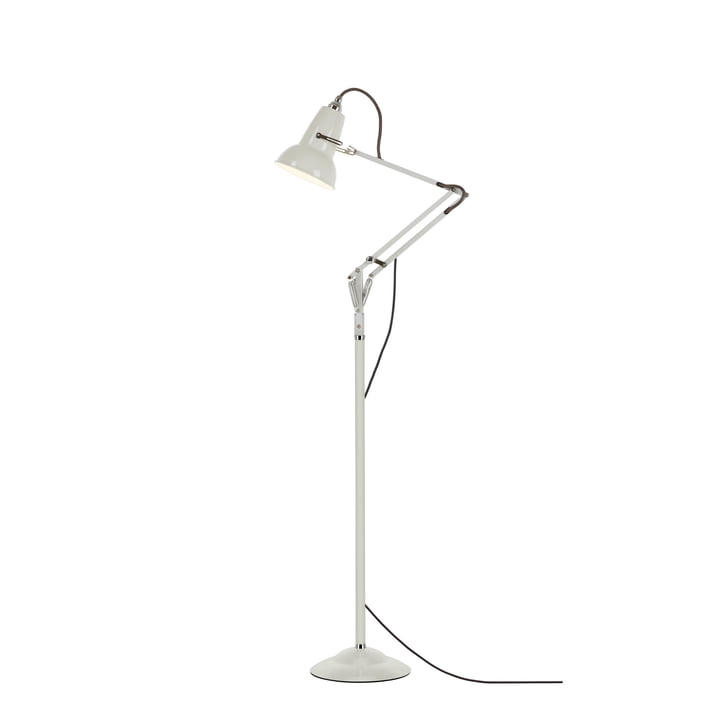 Original 1227 mini floor lamp, linen white (cable: gray) from Anglepoise