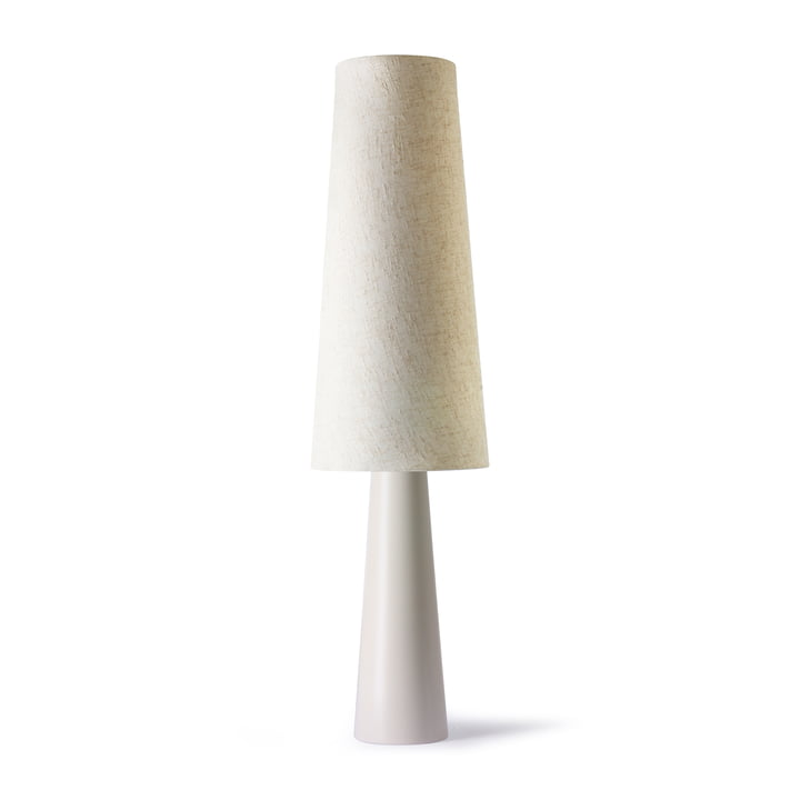 The Retro floor lamp Cone, cream by HKliving