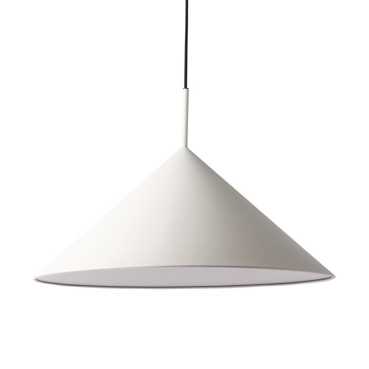 HKliving - Triangle pendant lamp, L Ø 60 x H 39 cm, warm grey