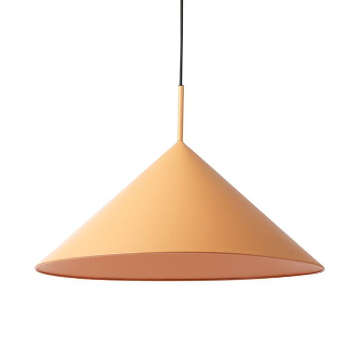HKliving - Triangle pendant lamp, L Ø 60 x H 39 cm, matt peach