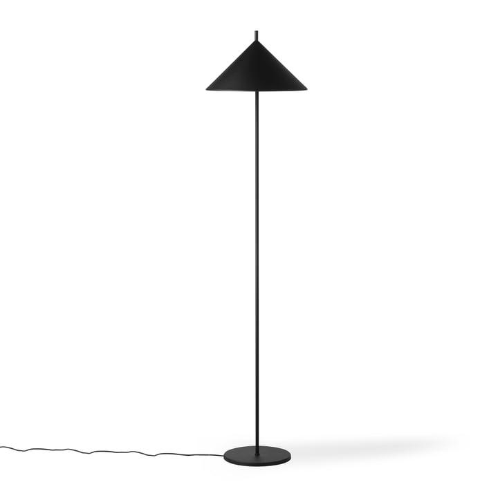 The Triangle floor lamp, matt black from HKliving