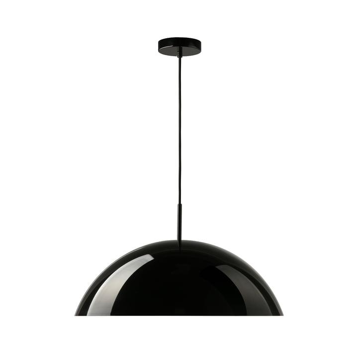 HKliving - Cupola pendant lamp, Ø 56 x H 20 cm, black