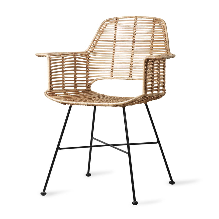 Rattan Tub Chair, natural by HKliving