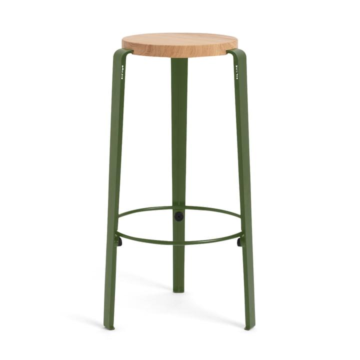 The BIG LOU bar stool, oak / TipToe by TipToe